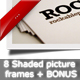 Boxes of Pictures with Shadows + BONUS - GraphicRiver Item for Sale