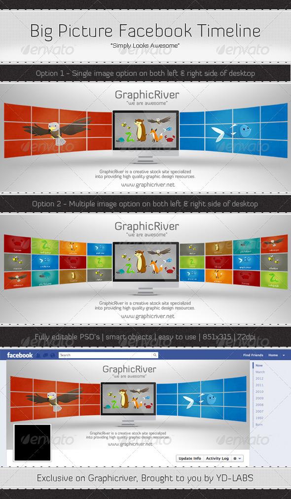 Big Picture Facebook Timeline - Facebook Timeline Covers Social Media