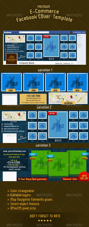 E-commerce Facebook Timeline Cover 9 - Facebook Timeline Covers Social Media