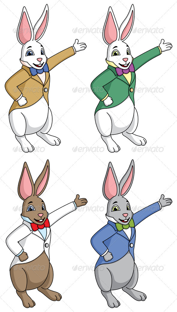 Easter Bunny - Animals Characters