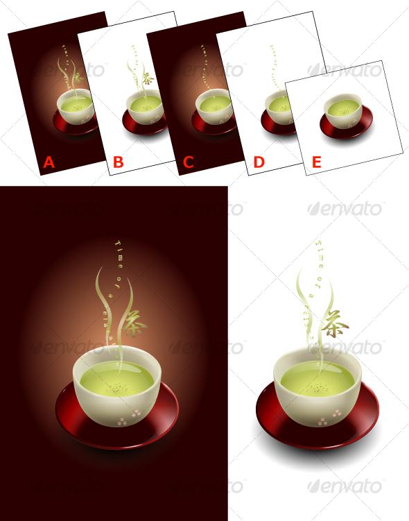 Japanese Tea - Miscellaneous Conceptual