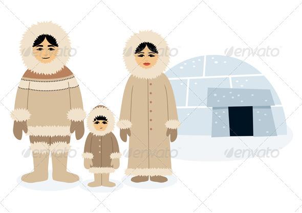 Eskimos - People Characters