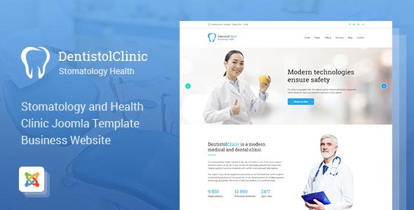 Dentistol – Stomatology Clinic Joomla Template