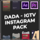 DADA - IGTV Motion Graphics Pack - VideoHive Item for Sale