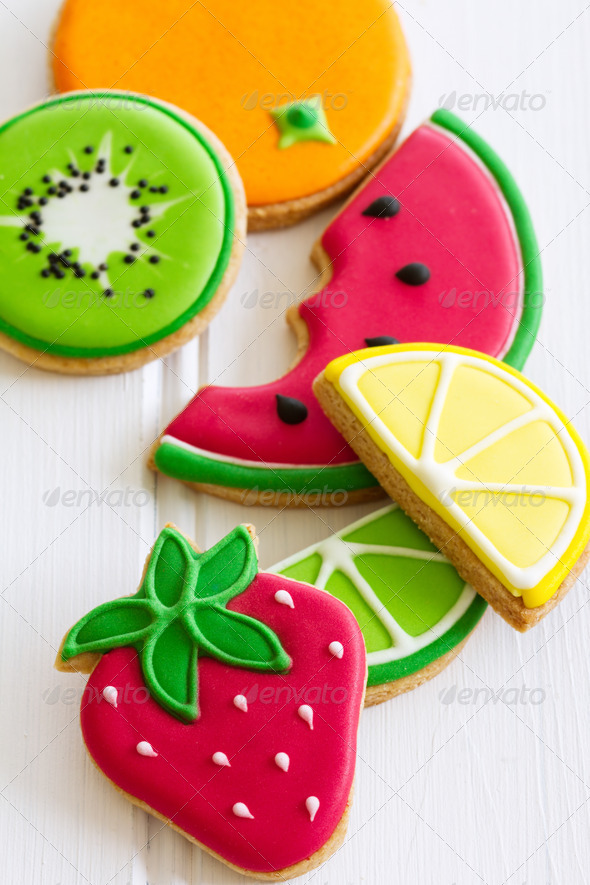 Summer cookies - Stock Photo - Images