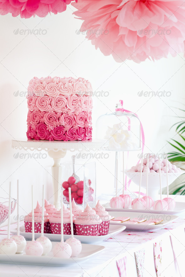 Dessert table - Stock Photo - Images