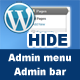 WordPress Hide Admin Menu Plugin - CodeCanyon Item for Sale