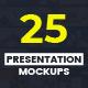 Slides Presentation Mockups Vol.1