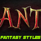 Fantasy Movies And Games Styles - GraphicRiver Item for Sale