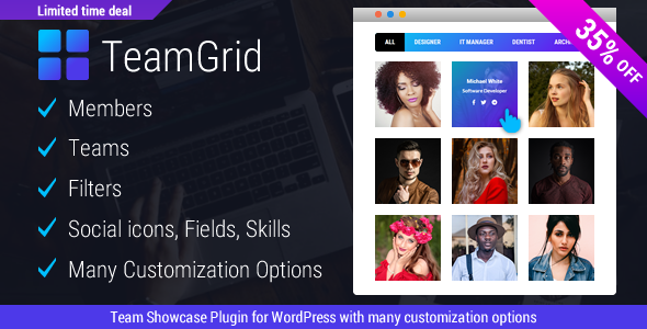 Download Team Grid – Team Member Showcase WordPress Plugin & Team Editor Free Nulled