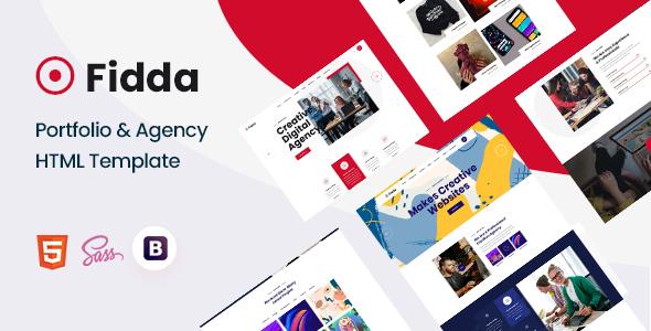 Fidda – Portfolio & Agency HTML5 Template