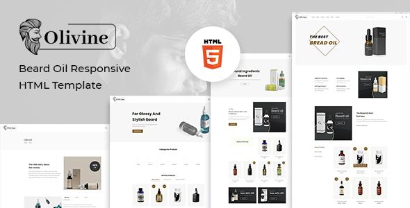 Olivine – Beard Oil HTML Template