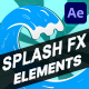 Splash FX Pack | After Effects - VideoHive Item for Sale