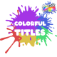 Colorful Titles | FCPX