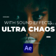 Ultra Chaos Glitch Text Maker | After Effects - VideoHive Item for Sale