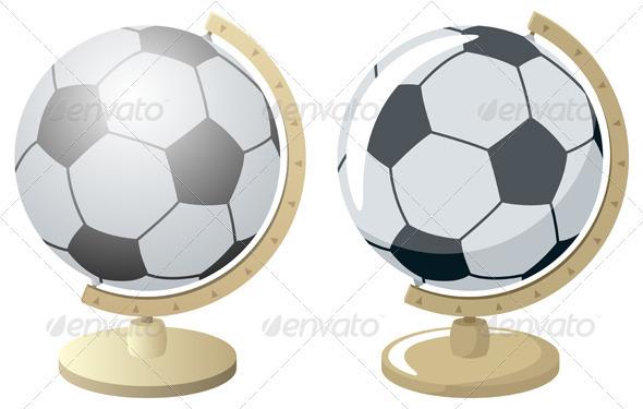 Football / Soccer World - Characters Vectors