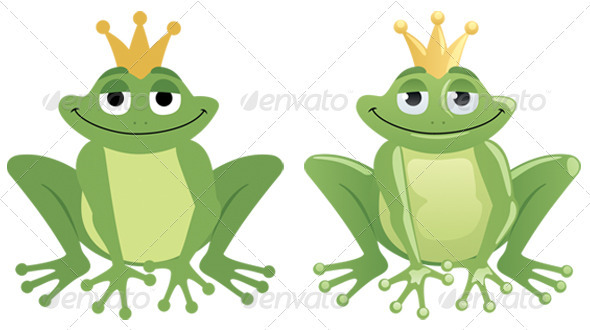Frog Prince - Characters Vectors