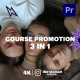 Course Promotion for Premiere Pro - VideoHive Item for Sale