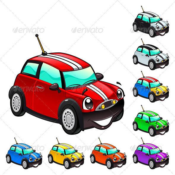 Funny car. - Travel Conceptual