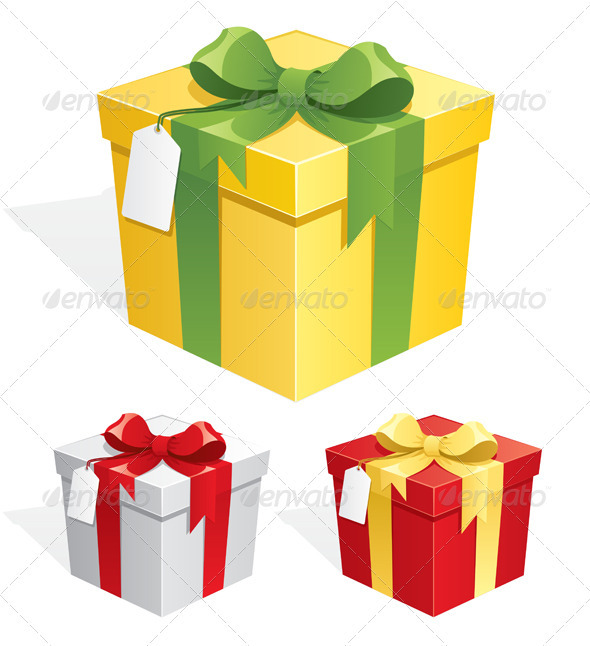 Gift Box - Seasons/Holidays Conceptual
