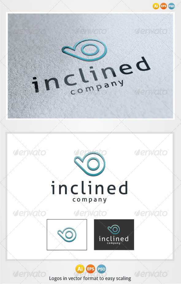 Inclined Logo - Letters Logo Templates