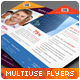 Multipurpose Corporate Flyers, Magazine Ads vol. 5 - GraphicRiver Item for Sale