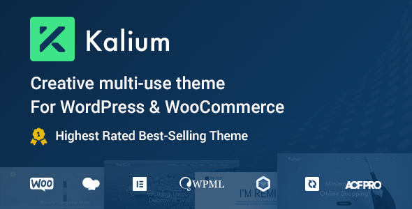Special Kalium - Creative Multipurpose Theme for WordPress and WooCommerce