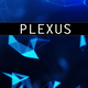 Plexus Blue Background - VideoHive Item for Sale