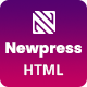 Newpress - Blog Magazine HTML Template