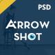 Arrowshot marketplace psd template