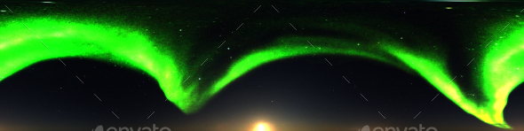 Northern Lights 2 HDRI
