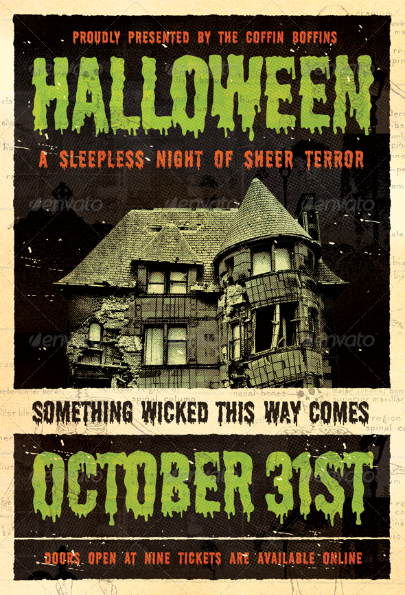 Something Wicked - Halloween Flyer Template - Holidays Events