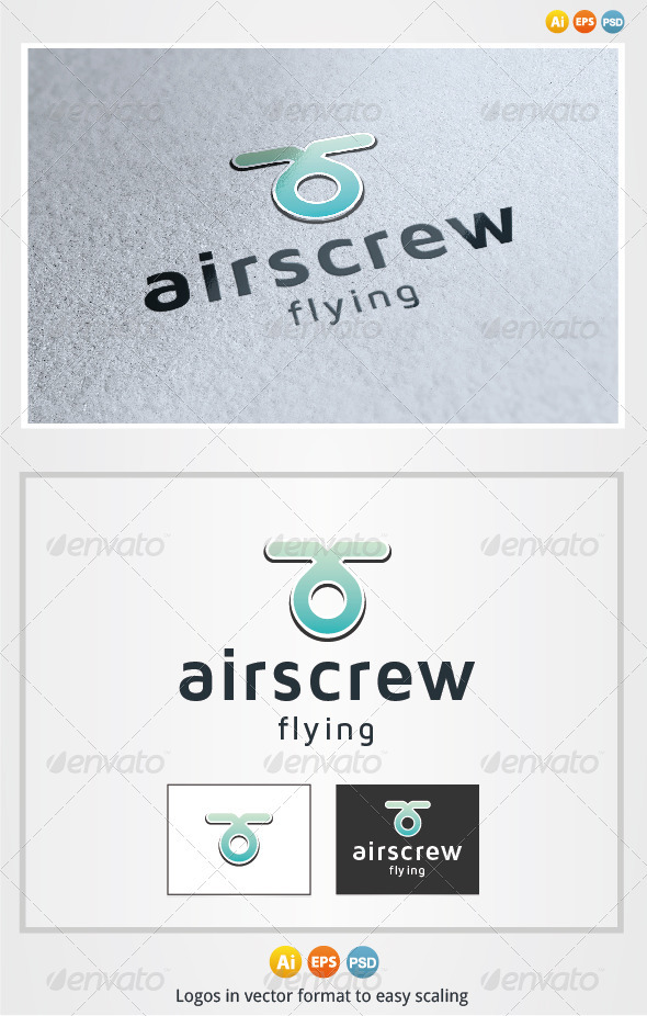 Airscrew Logo - Abstract Logo Templates