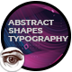 Abstract Shapes Typography - VideoHive Item for Sale