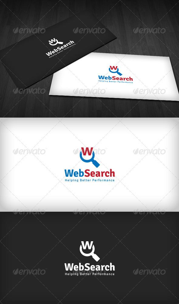 Web Search Logo - Letters Logo Templates