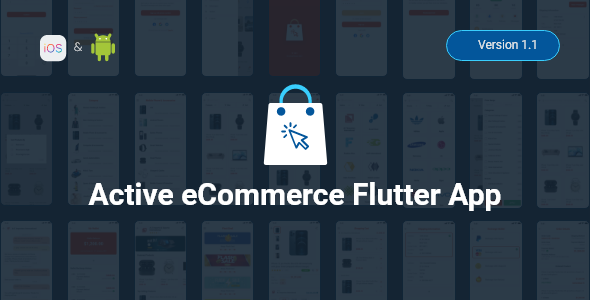Active eCommerce Flutter App Nulled