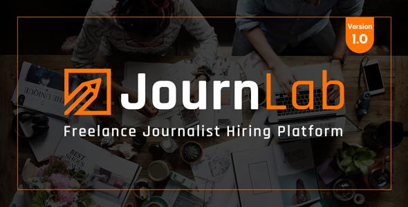 JournLab - Freelance Journalist Hiring platform