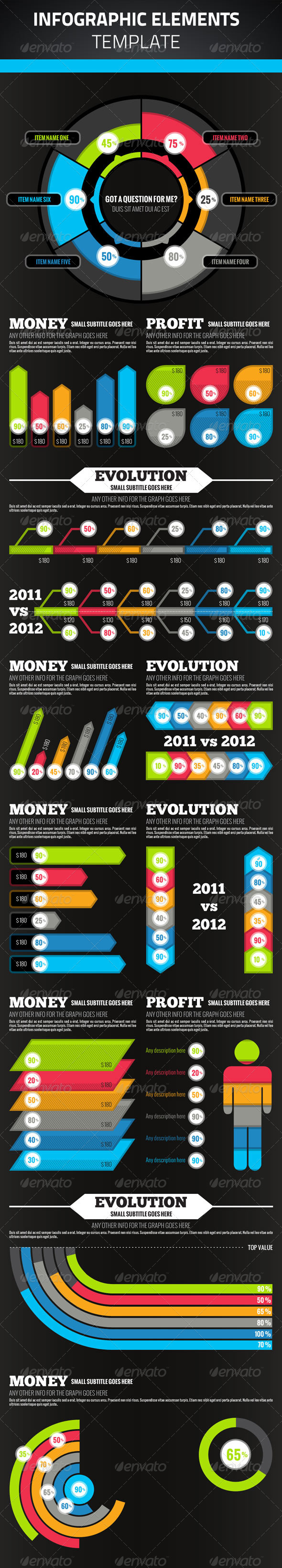 Infographic Elements - Infographics