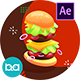 Fast Food Product Promo   After Effects - VideoHive Item for Sale