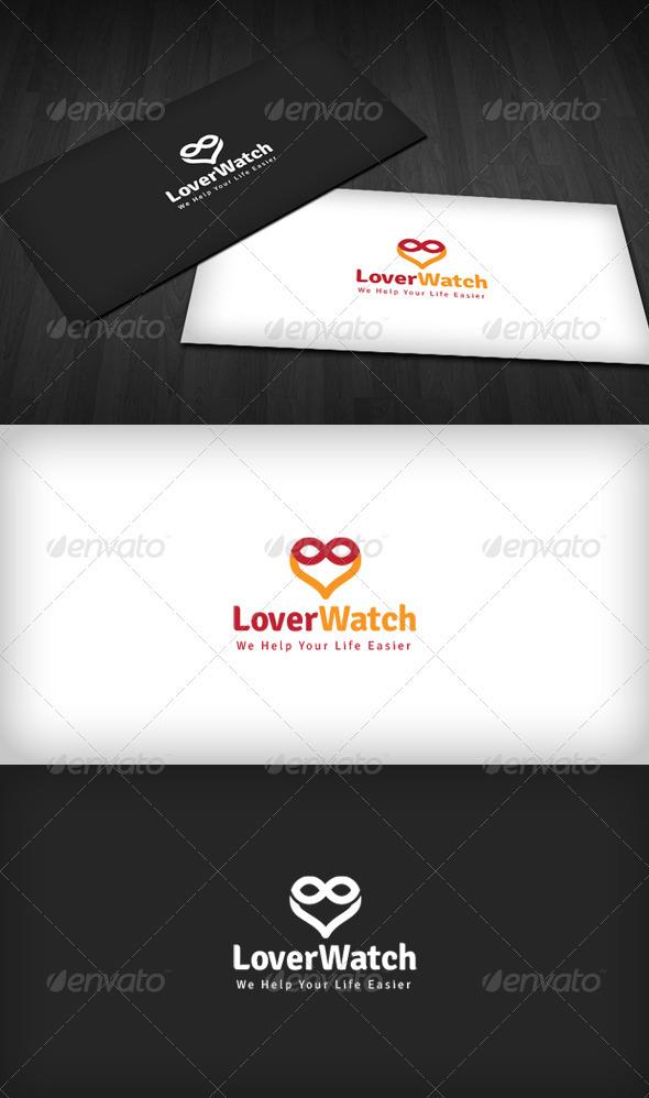 Lover Watch logo - Symbols Logo Templates