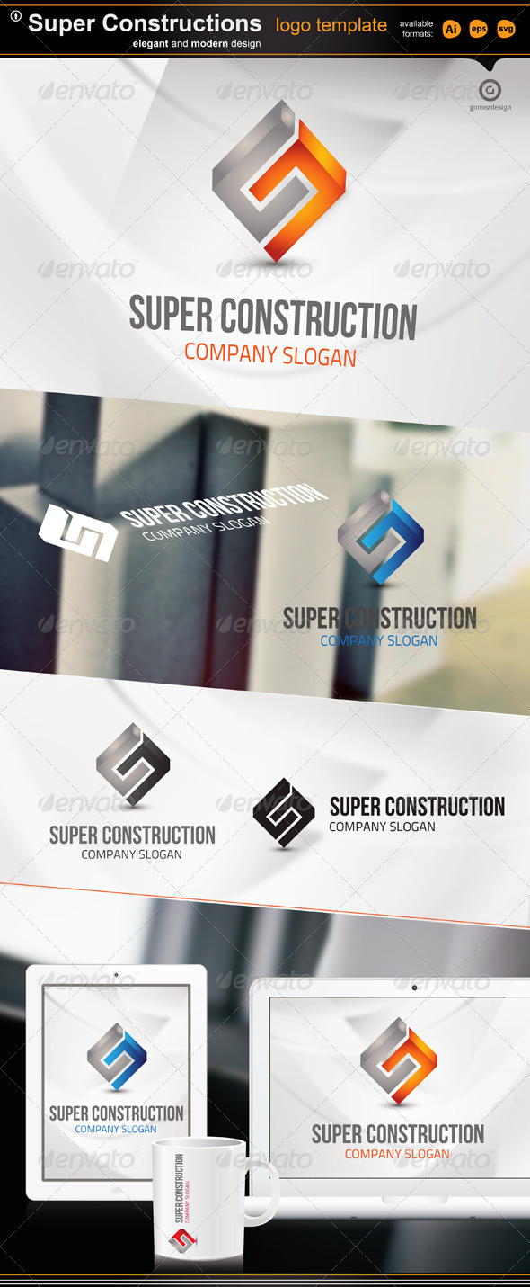 Super Construction - Logo Templates
