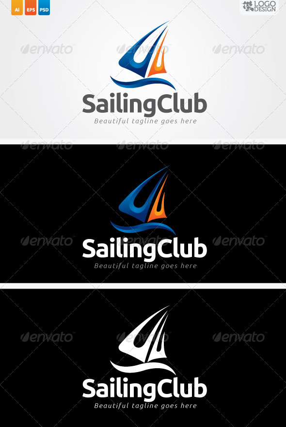 Sailing Club - Objects Logo Templates
