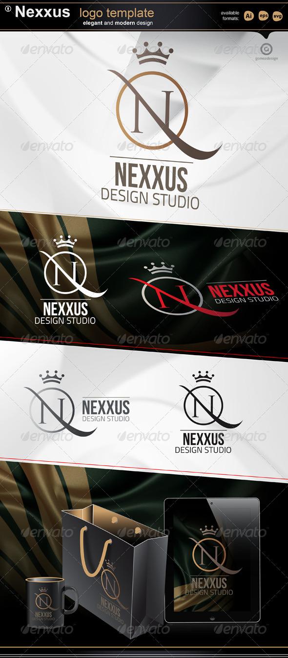 Nexxus design studio - Letters Logo Templates