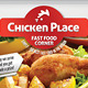Chicken Place - Fast Food Flyer - GraphicRiver Item for Sale