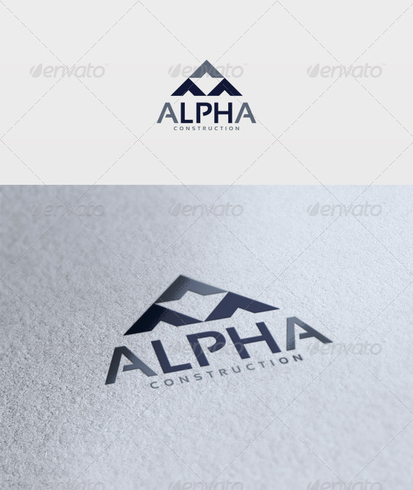 Alpha Logo - Vector Abstract