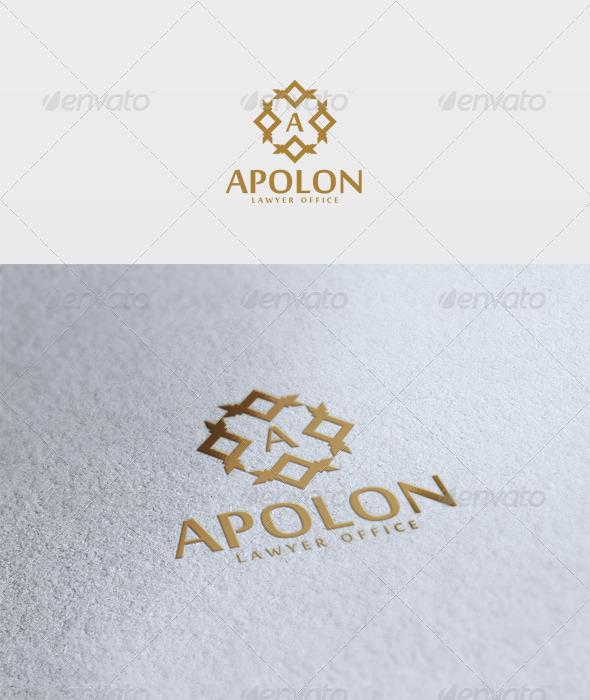 Apolon Logo - Letters Logo Templates