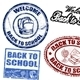Back to School stamps - GraphicRiver Item for Sale