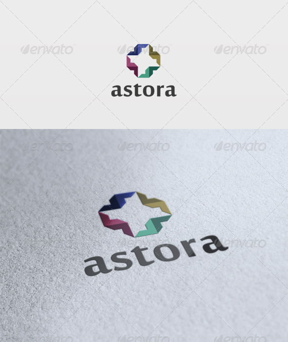 Astora Logo - Vector Abstract