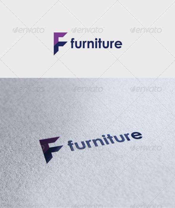Furniture Logo - Letters Logo Templates