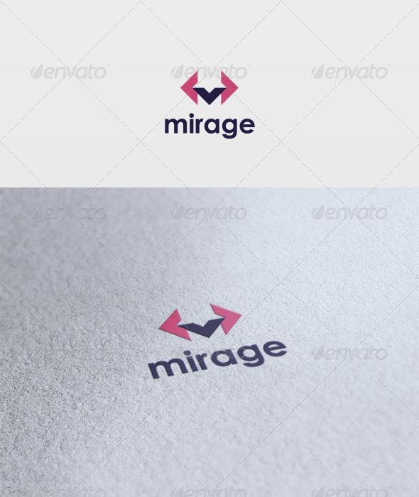 Mirage Logo - Vector Abstract